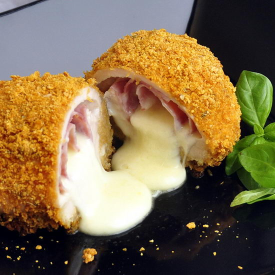 Baked Italian Chicken Cordon Bleu