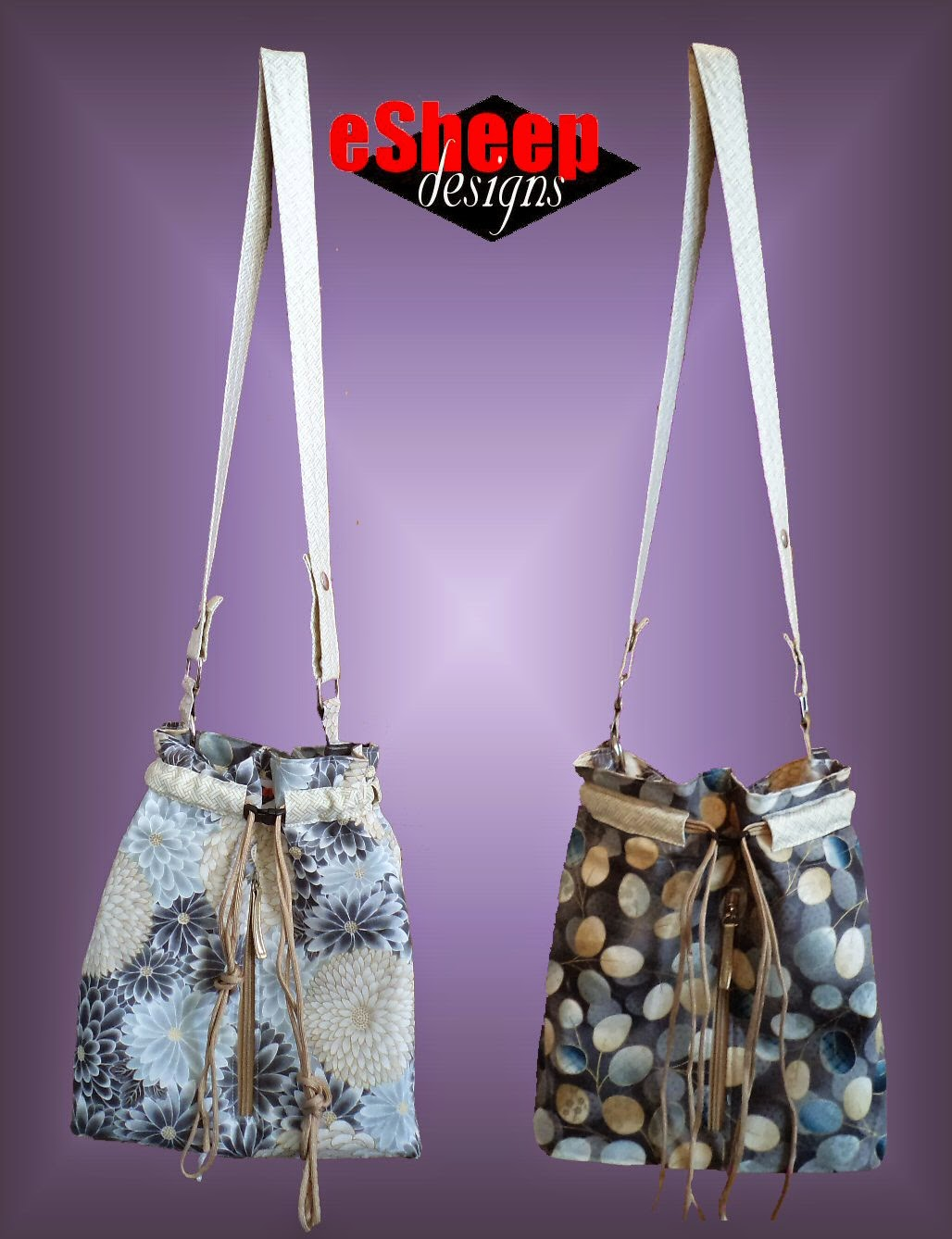 Bodaciously Basic Bucket Bag by eSheep Designs