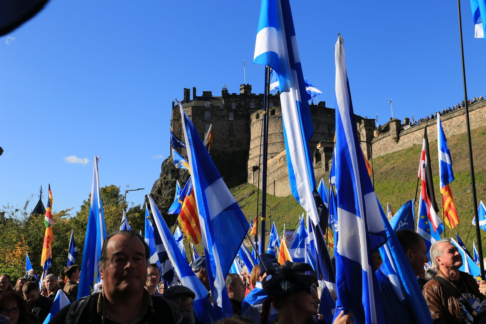 Edinburgh March October 2018