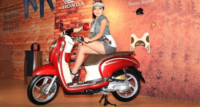 Info Harga dan Spesifikasi Model motor Honda Scoopy F1