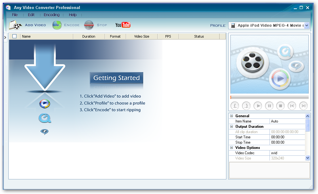 Any Video Converter 5.5.6 Professional