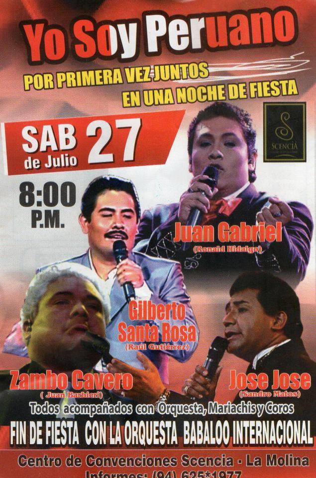 Yo soy Peruano en Arequipa (27 julio)