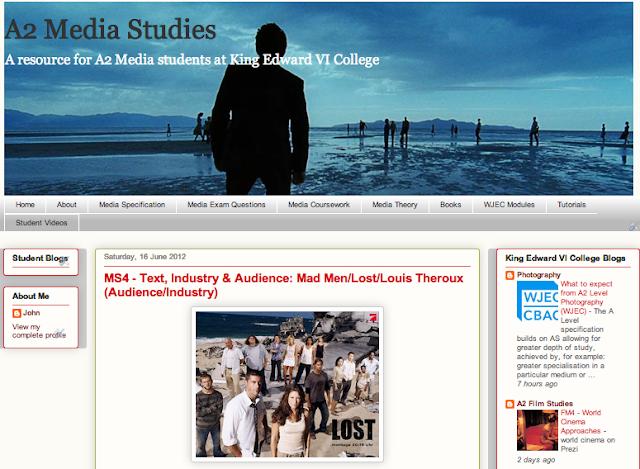 A2 film studies coursework