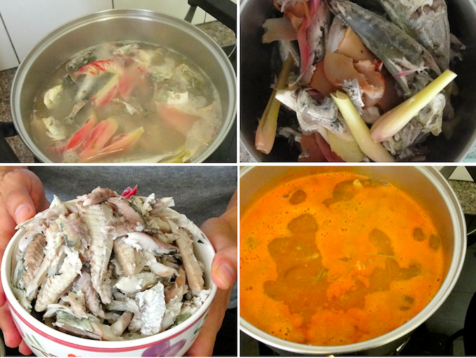 how long to cook fish for assam laksa