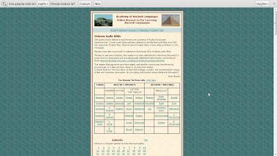 Escutar antigo testamento completo em hebraico