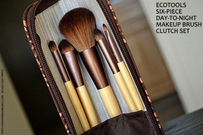 Ecotools 6 Piece Day To Night Best Drugstore Cheap Makeup Brushes Clutch Set Indian Beauty Blog Review Photos How to Use