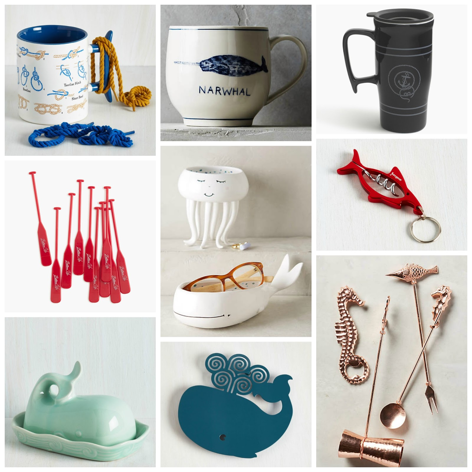Nautical by Nature: Nautical Gift Guide: Under $25