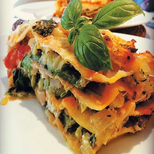 Resep Lasagna Bayam