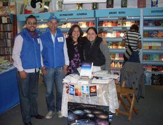 Urantianos en la Feria del Libro