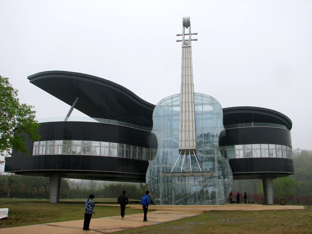 Design piano house in china for Architecture building design