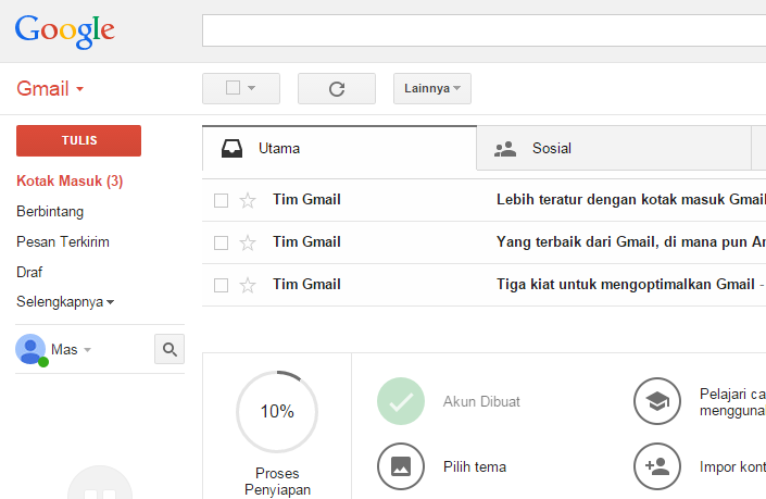 Login ke Email Google