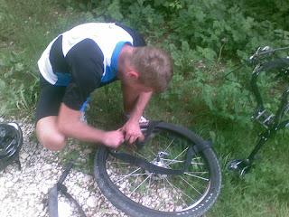 Soluzione contro le forature di bicicletta