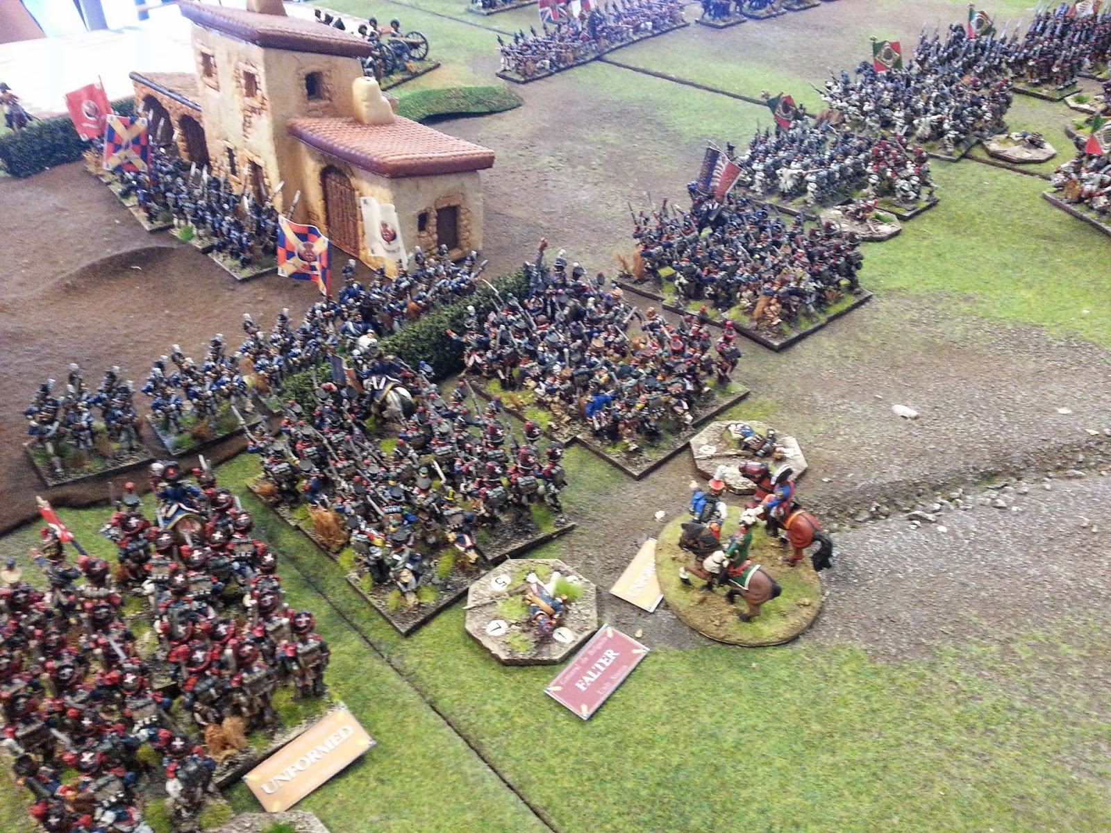 Napoleonic 28mm Wargames 28mm Napoleonic Game Using