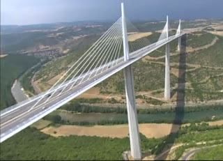 The viaduct at Millau