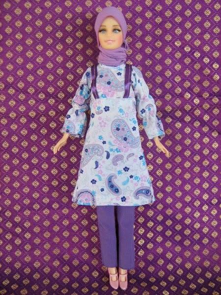 Gratis gambar boneka barbie muslim arrosa