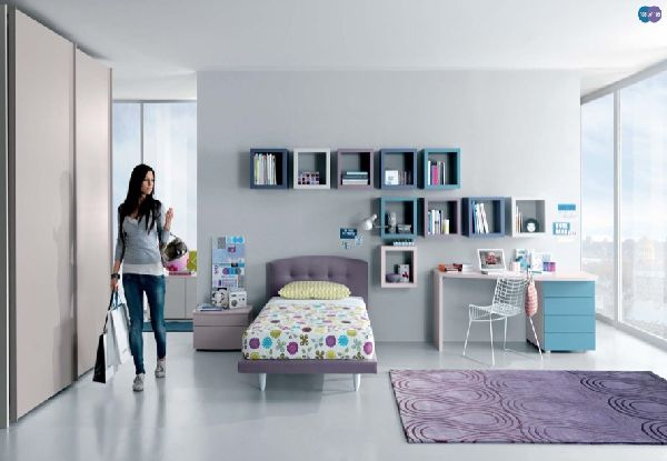 Simple Teen Age Bed Room Home Furniture Design Kitchenagendacom