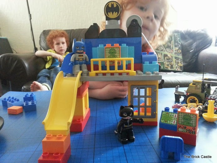 LEGO DUPLO Batcave Adventure set review Batman play building