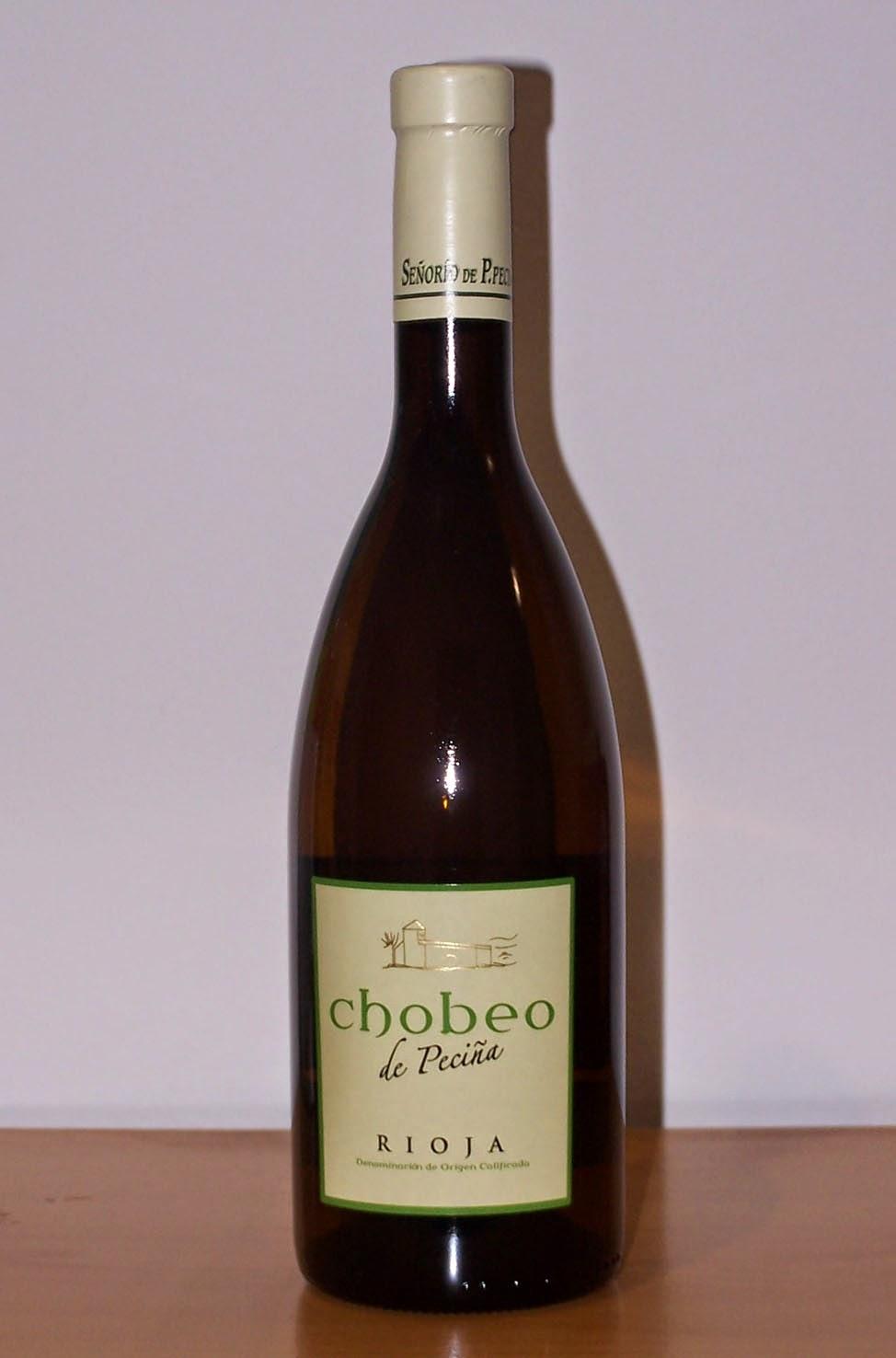 Chobeo de Peciña blanco 2011, D.o.c Rioja