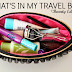 Beauty Edition - What's In My Travel Bag? ♥