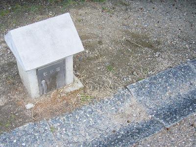 大阪府・深北緑地ウォーキング 散水栓とドングリ・・・