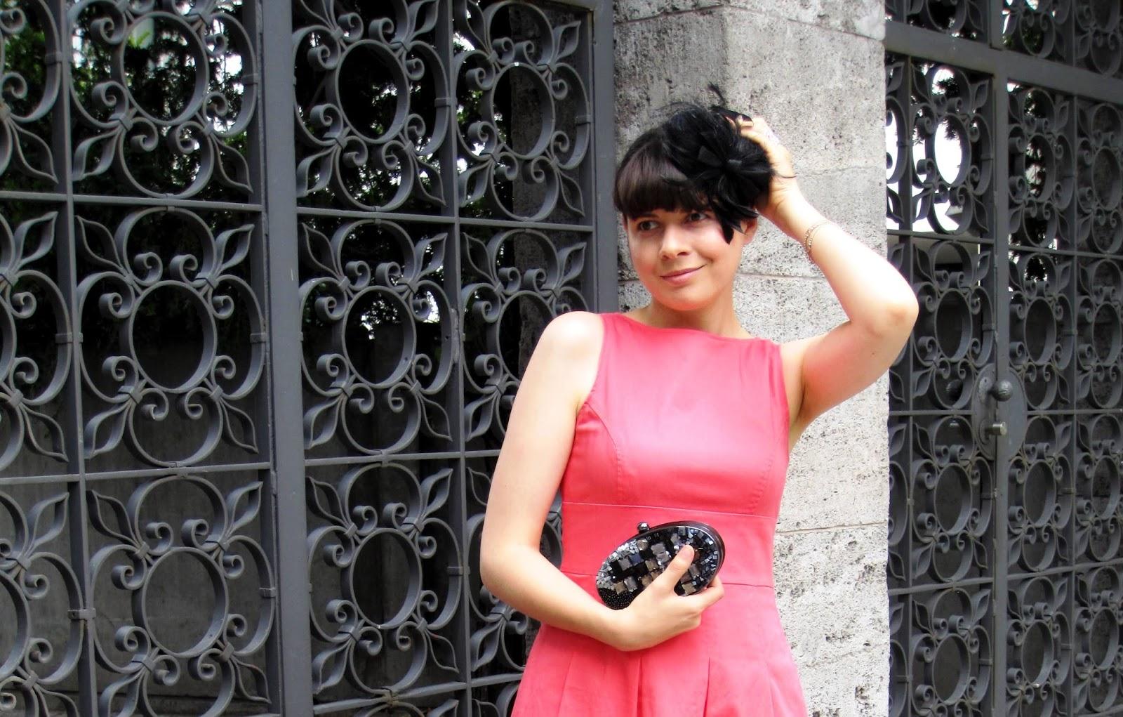 Pink dress, Menbur Tasche