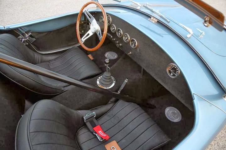 Shelby Cobra CSX7000 289 FIA 50th Anniversary Continuation (2014) Interior