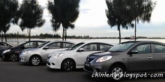 Nissan Almera Beach Stop