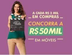 Promoção Casa de Cinema Móveis Campo Largo