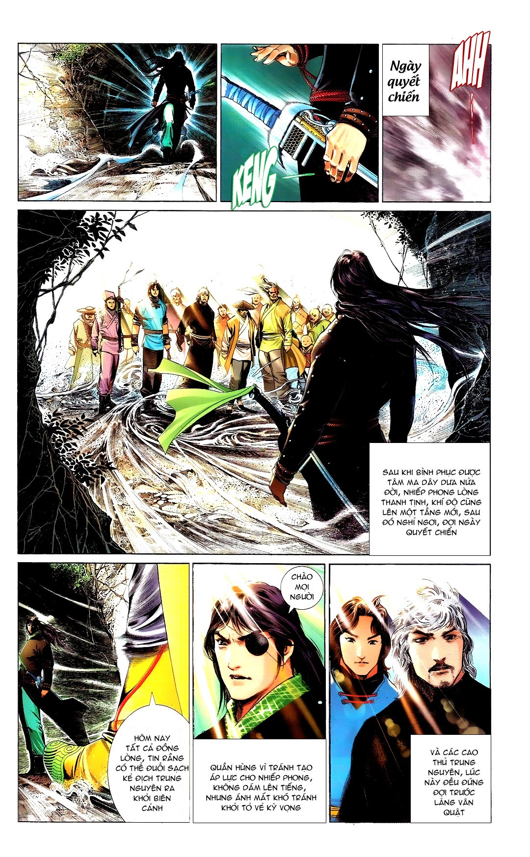 Phong Vân chap 666 Trang 36 - Mangak.info