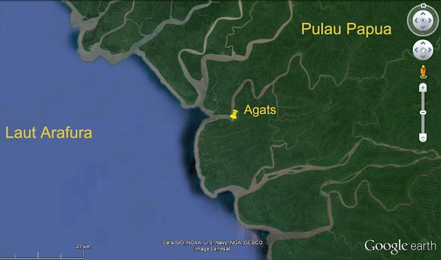 Kekeringan di Asmat, Harga Air Bersih Capai 2 Juta