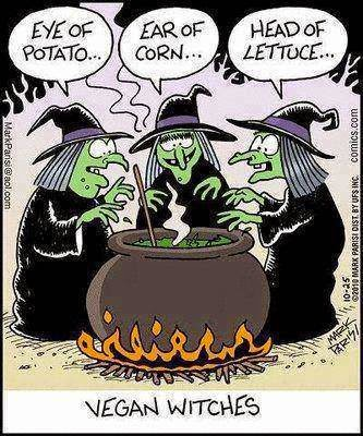 Vegan Witches !