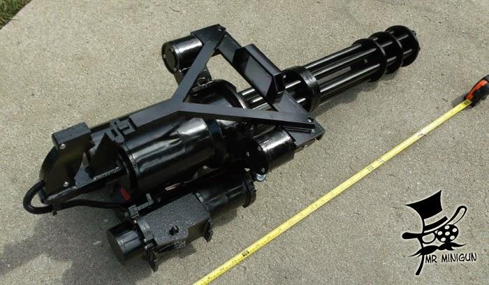 Gatling Design mr minigun props the of killbucket bivens more early