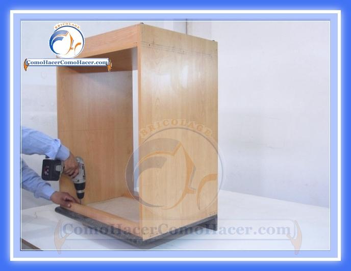 As de facil se hace un mueble para la cocina taringa for Como armar un mueble de cocina