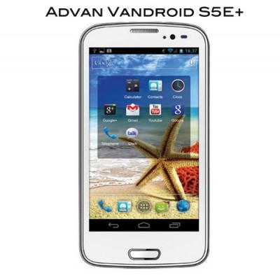 Beda Advan Vandroid S5E+ dan Vandroid S5E