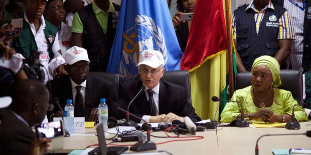 Guinea declared Ebola free, step to end disease