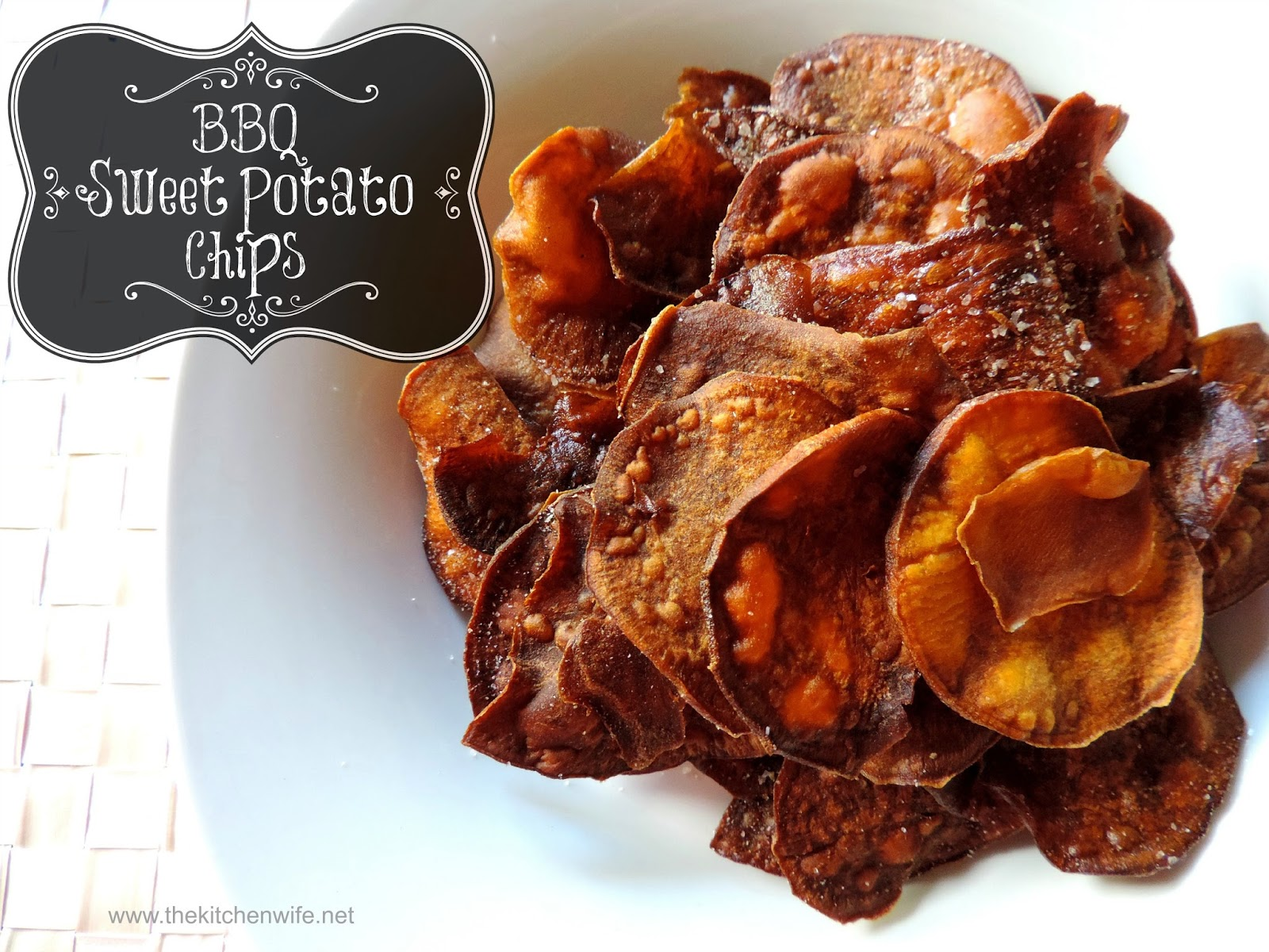 Barbecue Sweet Potato Chips Recipe — Dishmaps
