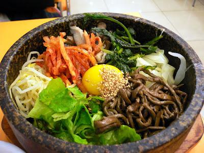 Makanan Korea Bibimbap