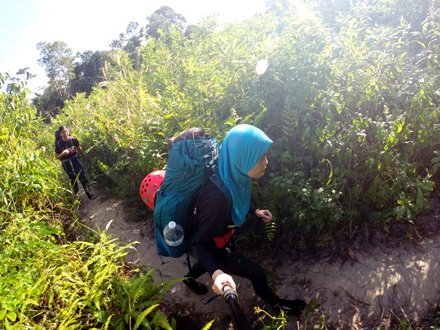 Canyoning di Sungai Pisang