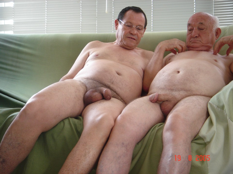 Naked old man gay sex