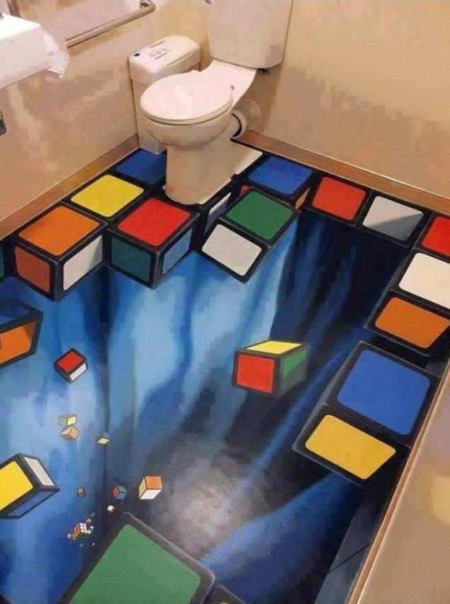 Baño Rubik