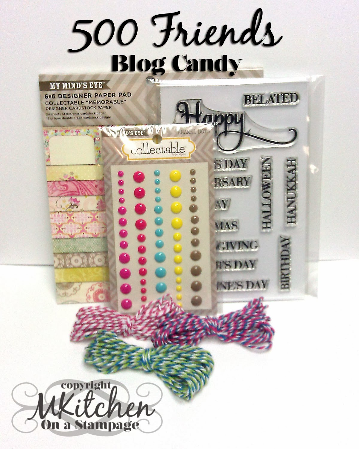 I have blog candy!