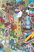 eBoy Pixel ArtiPhone 4 Wallpaper. Resolution: 960x640