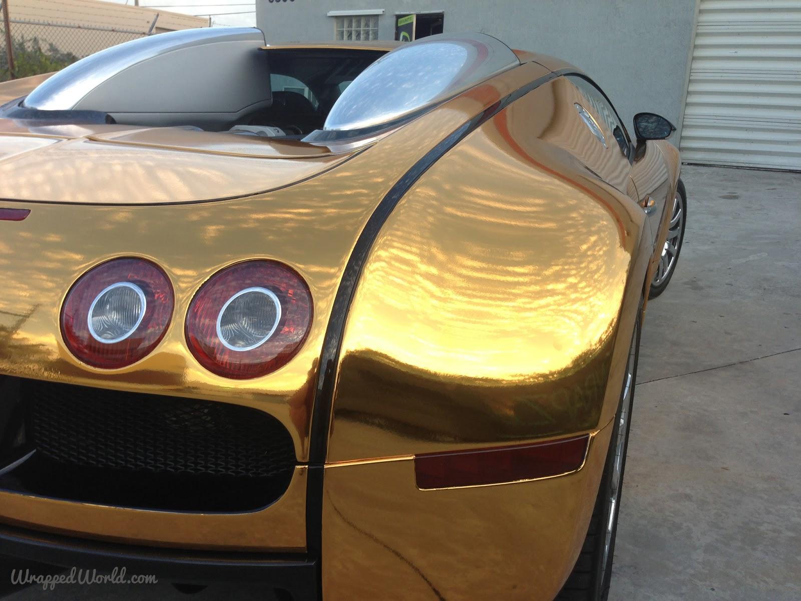 gold-wrapped-bugatti-9 Astounding Bugatti Veyron Grand Sport Vitesse Geschwindigkeit Cars Trend