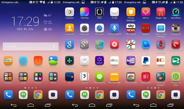 Download Programs Mobile Huawei Android ascend_p7_launcher_S