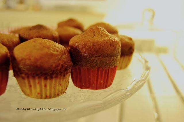 Muffin di zucca ( Glassati )Halloween - shabby&countrylife.blogspot.it