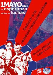 Afiche FSM | Primero de Mayo 2021
