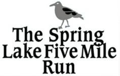 Spring Lake 5 mile run logo
