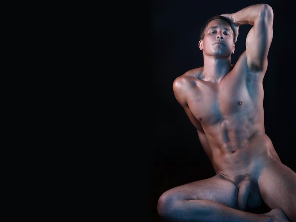 Free nude male wallpaper