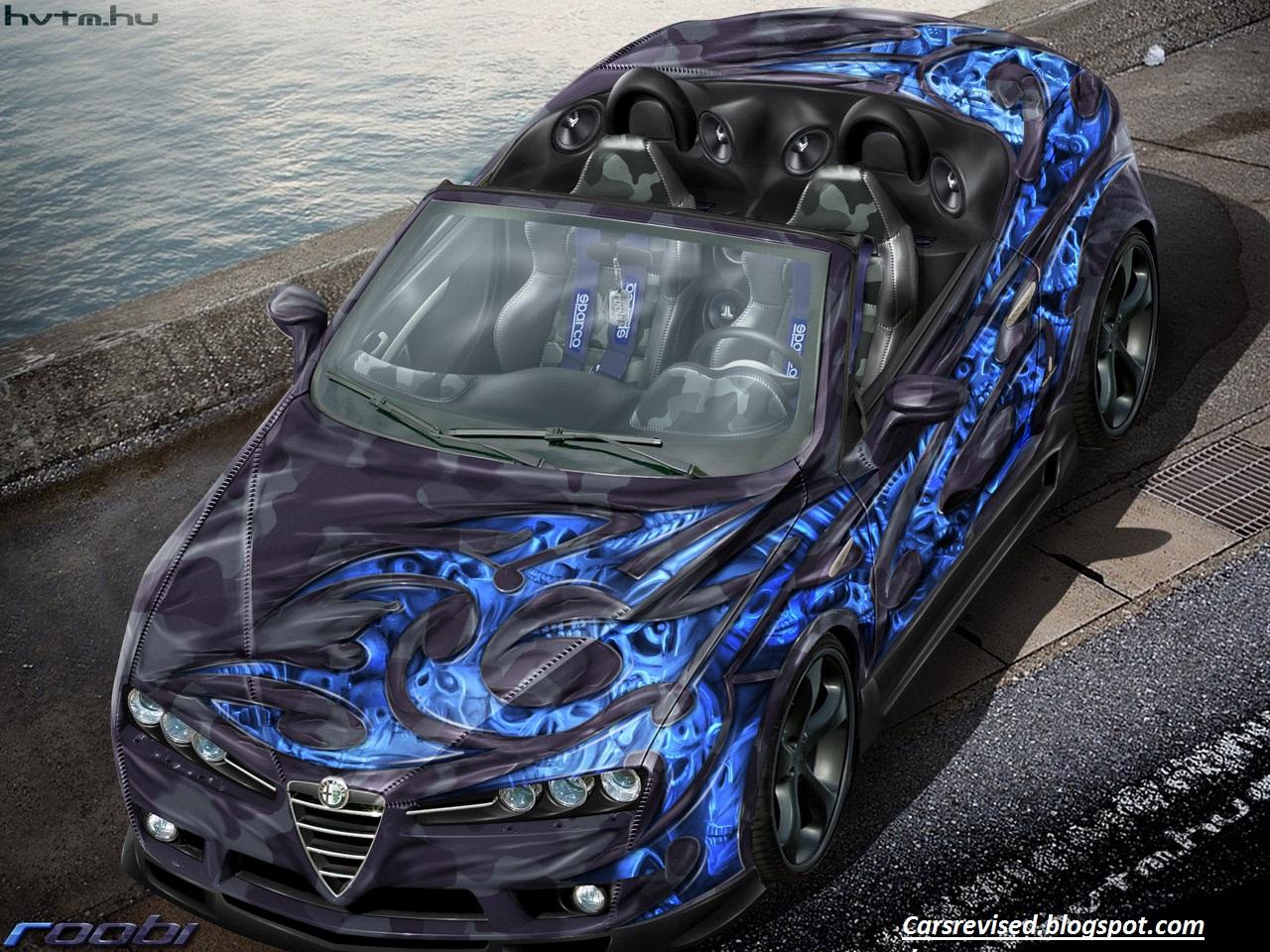 Peinture voiture tuning