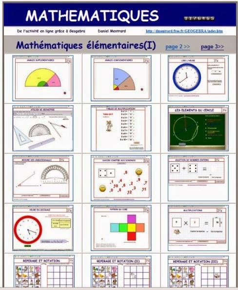 http://dmentrard.free.fr/GEOGEBRA/Maths/Elementaire/Elementaire.htm